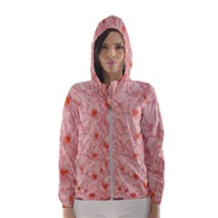 Pink Crochet Hooded Windbreaker (women) by snowwhitegirl
