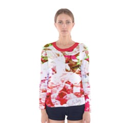 Officially Sexy Candy Collection Red Women s Long Sleeve T Shirt by OfficiallySexy