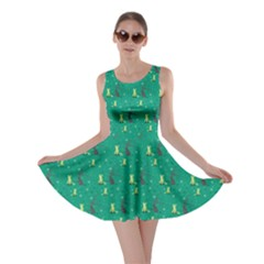 Forest Foxes Skater Dress by greenthanet