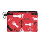 RED SWATCH#2 Canvas Cosmetic Bag (Medium)
