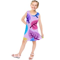 Backdrop Background Beautiful Kids  Tunic Dress by Nexatart