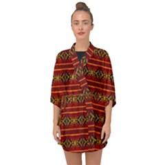 Navajo  Half Sleeve Chiffon Kimono by ArtworkByPatrick1