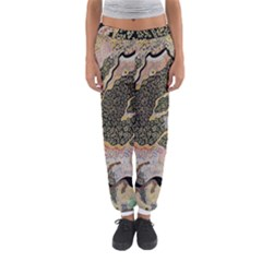 Lizard Volcano Women s Jogger Sweatpants by chellerayartisans