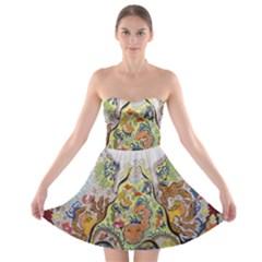 Starfish Strapless Bra Top Dress by chellerayartisans