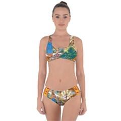 Great Seal Of Florida  Criss Cross Bikini Set