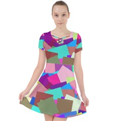 Colorful Squares                                               Caught In A Web Dress