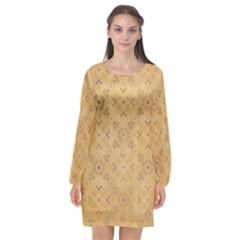 Background 1770246 1920 Long Sleeve Chiffon Shift Dress  by vintage2030