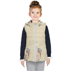 Background 1775324 1920 Kid s Hooded Puffer Vest by vintage2030