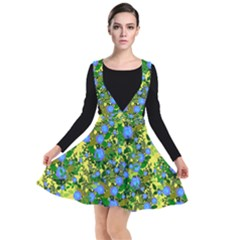 Blue Luminescent Roses Yellow Other Dresses by snowwhitegirl