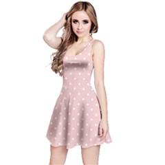 Little  Dots Pink Reversible Sleeveless Dress by snowwhitegirl