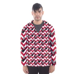 Vintage Camera Chevron Hooded Windbreaker (men) by snowwhitegirl