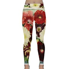Flowers 1776585 1920 Classic Yoga Leggings by vintage2030