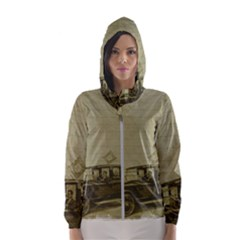 Background 1706642 1920 Hooded Windbreaker (women) by vintage2030