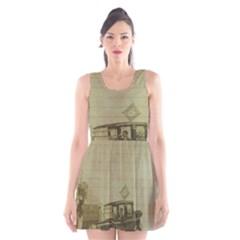 Background 1706642 1920 Scoop Neck Skater Dress by vintage2030