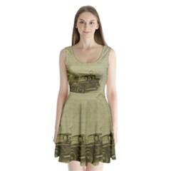 Background 1706642 1920 Split Back Mini Dress  by vintage2030