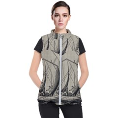 Ship 1515875 1280 Women s Puffer Vest by vintage2030