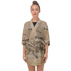 Motorcycle 1515873 1280 Half Sleeve Chiffon Kimono by vintage2030