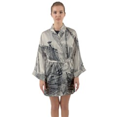 Ship 1515860 1280 Long Sleeve Kimono Robe by vintage2030