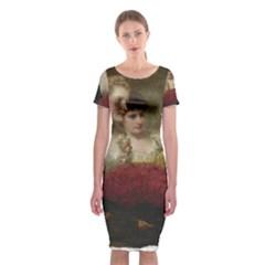 Vintage 1501598 1280 Classic Short Sleeve Midi Dress by vintage2030