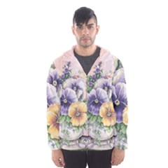 Lowers Pansy Hooded Windbreaker (men) by vintage2030