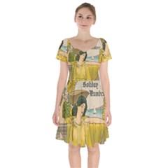 Vintage 1395176 1280 Short Sleeve Bardot Dress by vintage2030