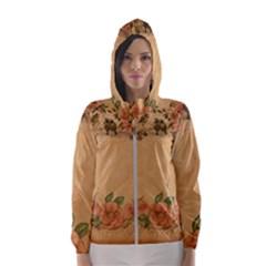 Background 1365750 1920 Hooded Windbreaker (women) by vintage2030