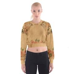 Background 1365750 1920 Cropped Sweatshirt by vintage2030