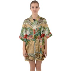 Valentine 1171144 1920 Quarter Sleeve Kimono Robe by vintage2030
