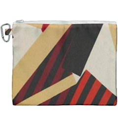 Fabric Textile Design Canvas Cosmetic Bag (xxxl) by Sapixe