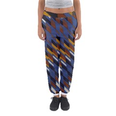 Colors Fabric Abstract Textile Women s Jogger Sweatpants