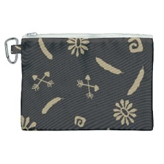 Pattern Seamless American Culture Canvas Cosmetic Bag (xl) by Sapixe