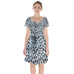 Abstract 1071129 960 720 Short Sleeve Bardot Dress by vintage2030