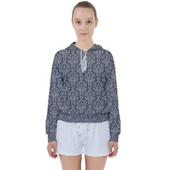Damask 937606 960 720 Women s Tie Up Sweat by vintage2030