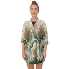 Flapper 1079515 1920 Half Sleeve Chiffon Kimono by vintage2030