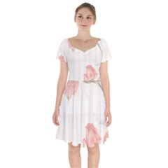 Vintage 1079410 1920 Short Sleeve Bardot Dress by vintage2030