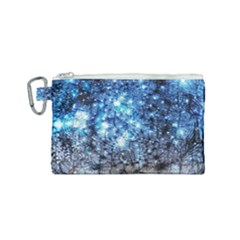 Abstract Fractal Magical Canvas Cosmetic Bag (small) by Samandel