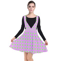 Pastel Mod Pink Green Circles Other Dresses by BrightVibesDesign