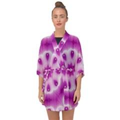Pattern Abstract Background Art Half Sleeve Chiffon Kimono