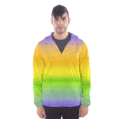 Ombre Hooded Windbreaker (men) by Valentinaart