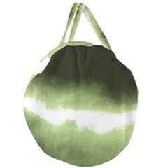 Ombre Giant Round Zipper Tote