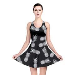 Pineapple Pattern Reversible Skater Dress by Valentinaart