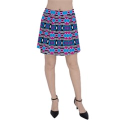 Blue Pink Shapes Rows Jpg                                                       Panel Skirt