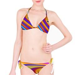 Soap Bubble Color Colorful Classic Bikini Set