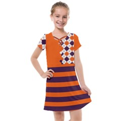 Clown Kids  Cross Web Dress by Wanni