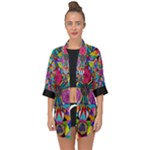 Positive Intention - Open Front Chiffon Kimono