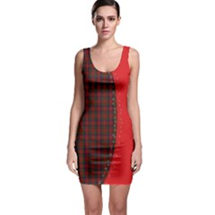 Patchwork Plaid Bodycon Dress by chihuahuadresses