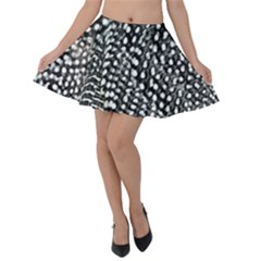 Animal Print Velvet Skater Skirt by greenthanet