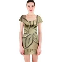 You Are My Star Short Sleeve Bodycon Dress by NSGLOBALDESIGNS2
