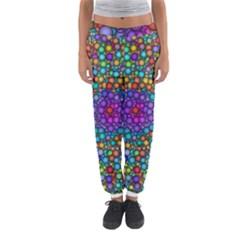 Points Mandala Kaleidoscope Women s Jogger Sweatpants