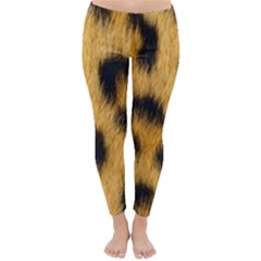 Animal Print Leopard Classic Winter Leggings by NSGLOBALDESIGNS2